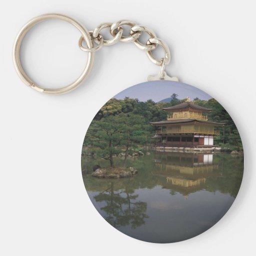 Kinkaku-ji Buddhist Temple Key Chain