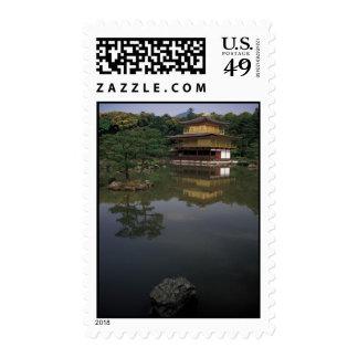 Kinkaku-ji Buddhist Temple Stamp