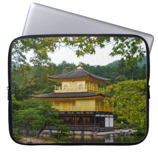Kinkaku-ju (Golden Pavillion), Kyoto Laptop Sleeves