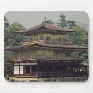 Kinkaku temple  dedicated to the memory mouse pad