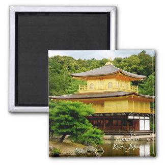 Kinkakuji 2 Inch Square Magnet
