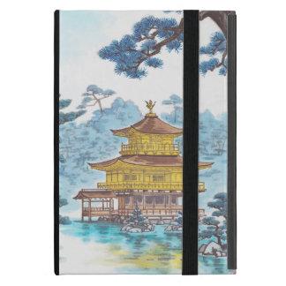 Kinkakuji Temple Kamei Tobei japanese scenery art Case For iPad Mini
