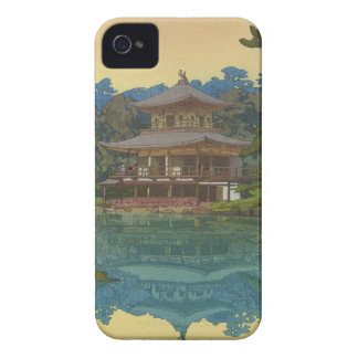 Kinkakuji Temple Yoshida Hiroshi shin hanga art iPhone 4 Case