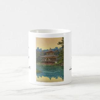 Kinkakuji Temple Yoshida Hiroshi shin hanga art Classic White Coffee Mug