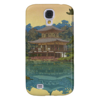 Kinkakuji Temple Yoshida Hiroshi shin hanga art Samsung Galaxy S4 Cover