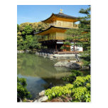 Kinkakuji, the Golden Pavilion, Kyoto, Japan Postcard