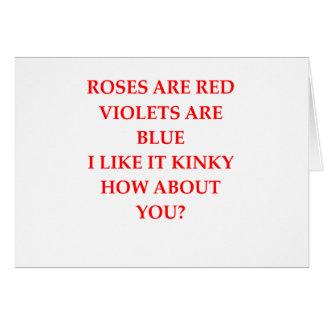 kinky card