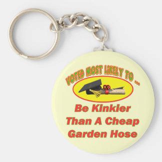 Kinky Garden Hose Key Chains