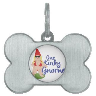 Kinky Gnome Pet Tag