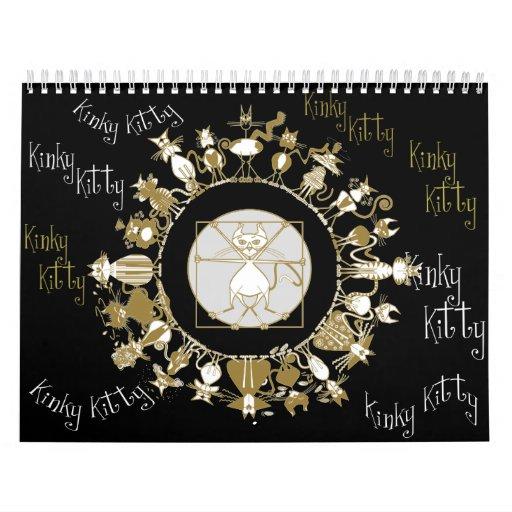 Kinky Kitty 2012 Calendar