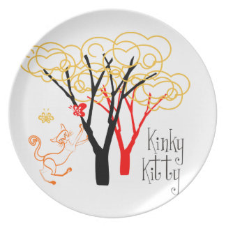 Kinky Kitty Baby Plate