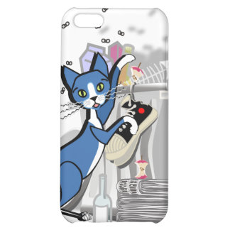 Kinky Kitty - Look who's coming for dinner Case iPhone 5C Case