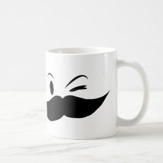 Kinky Mustache Coffee Mug