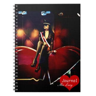 Kinky Show, Soho, London (Notebook) Spiral Notebook