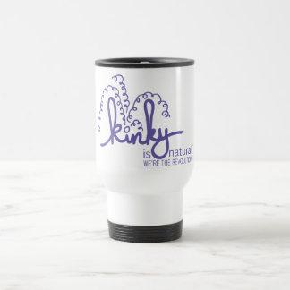 Kinky Spirals Mug - Purple
