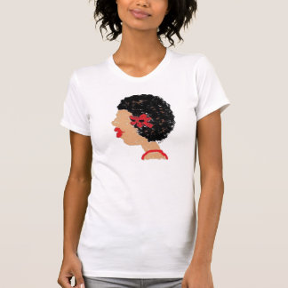 Kinky Starz Fro and Flower T-Shirt