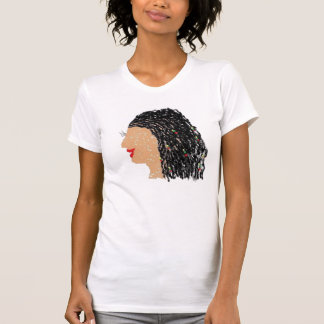 Kinky Starz Lashes and Locs T-Shirt