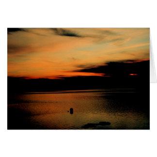Kinney Shores at Dusk Card