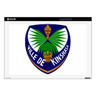 Kinshasa_-_Coat_of_arms Skin For Laptop