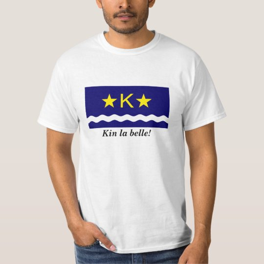 "Kinshasa Flag ""Kin la Belle"" T-Shirt"