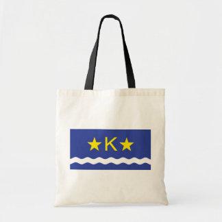 Kinshasha, Democratic Republic of the Congo flag Budget Tote Bag