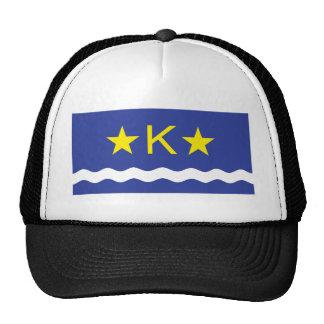 Kinshasha, Democratic Republic of the Congo flag Trucker Hat