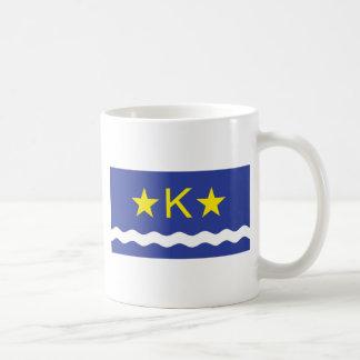 Kinshasha, Democratic Republic of the Congo flag Classic White Coffee Mug