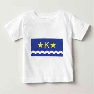 Kinshasha, Democratic Republic of the Congo flag T Shirt