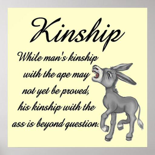 Kinship Humor Poster
