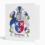 Kinsman Family Crest Vinyl Binders