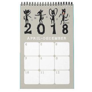 kintamani dog calendar