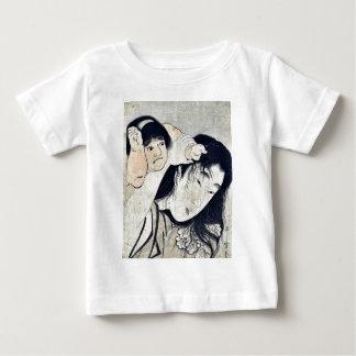 Kintaro grabbs Yamauba's hair by Kitagawa,Utamaro Infant T-shirt