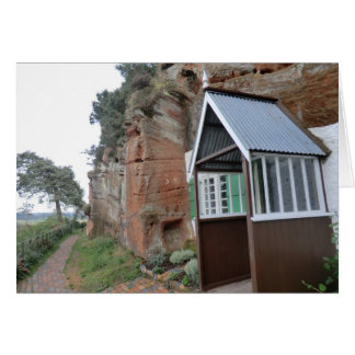 Kinver Edge Rock Houses Greeting Card