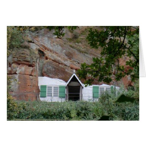 Kinver Edge Rock Houses Greeting Card