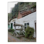 Kinver Edge Rock Houses Greeting Cards