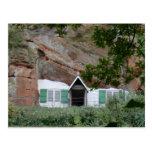 Kinver Edge Rock Houses Post Card