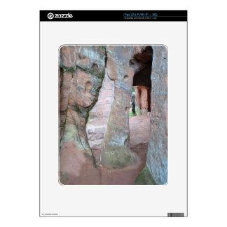 Kinver Edge Rock Houses Skins For iPad