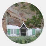Kinver Edge Rock Houses Sticker