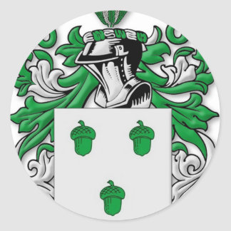Kinzler Coat of Arms Classic Round Sticker