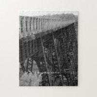 Kinzua Bridge Skywalk Picturesque Family Fun Jigsaw Puzzle