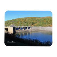 Kinzua Dam Reservoir Colorful Fall Scene Souvenir Magnet