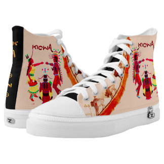 """KIOWA"" High-Top SNEAKERS"