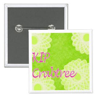 KIP Crabtree Pin Cuadrado