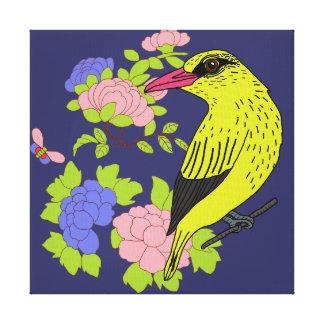 Kip kip the bird canvas print