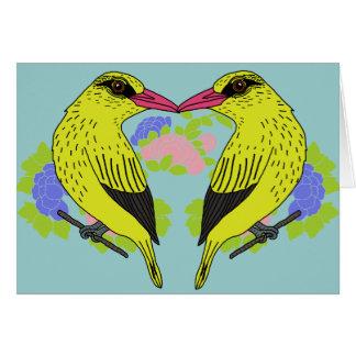 Kip kip the bird card