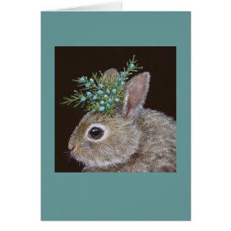 Kip la tarjeta del conejito del bebé