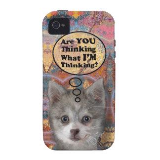 ¿Kippy es usted que piensa? Casamata dura Vibe iPhone 4 Carcasa