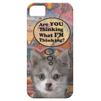 ¿Kippy es usted que piensa? Caso de Barely There iPhone 5 Case-Mate Carcasa
