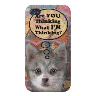 ¿Kippy es usted que piensa? Multi-Fundas iPhone 4 Cárcasas
