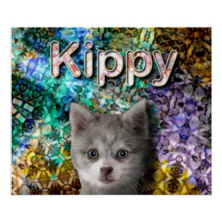 Kippy in the Crystal Castle - Resizeable Poster